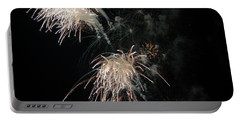 Portable Battery Charger featuring the photograph Fireworks 3 by Susan  McMenamin