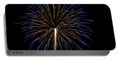 Fireworks Bursts Colors And Shapes 3 Portable Battery Charger