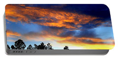 Firey Sunset Of Angel Fire Portable Battery Charger