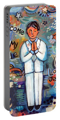First Communion Boy Portable Battery Charger