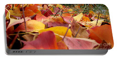 Portable Battery Charger featuring the photograph First Day Of Fall by Andrea Anderegg