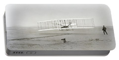 First Flight Captured On Glass Negative - 1903 Portable Battery Charger