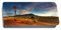 First Light On Wilpena Pound Portable Battery Charger
