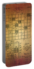 First Scrabble Game Board Patent From 1956  Portable Battery Charger