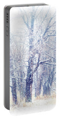 First Snow. Dreamy Wonderland Portable Battery Charger