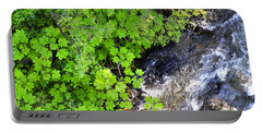 Fish Creek In Summer Portable Battery Charger by Cathy Mahnke