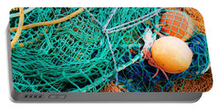 Fishing Nets And Floats Portable Battery Charger