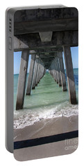 Fishing Pier Architecture Portable Battery Charger