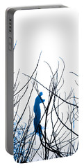 Portable Battery Charger featuring the photograph Fishing The River Blue by Robyn King