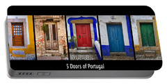 Five Doors Of Portugal Portable Battery Charger