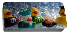 Five Ducks In A Row Portable Battery Charger