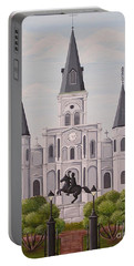 Five Fifteen In New Orleans Portable Battery Charger