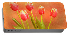 Five Tulips Portable Battery Charger