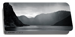 Fjord Rain Portable Battery Charger