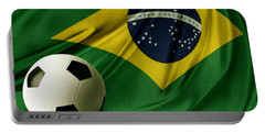 Flag And Ball Portable Battery Charger