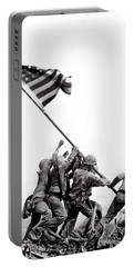 Flag Raising At Iwo Jima Portable Battery Charger