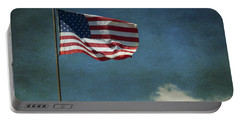 Flag - Still Standing Proud - Luther Fine Art Portable Battery Charger