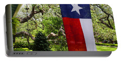 Texas The Lone Star State -  Luther Fine Art Portable Battery Charger