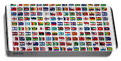 Flags Of The World Portable Battery Charger
