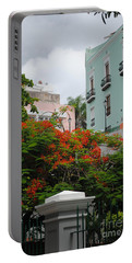 Flamboyan In Park Portable Battery Charger