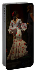 Flamenco Dancer #14 Portable Battery Charger by Mary Machare