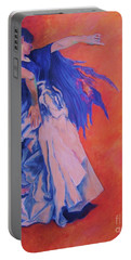 Flamenco-john Singer-sargent Portable Battery Charger