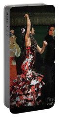 Flamenco Series No 13 Portable Battery Charger by Mary Machare
