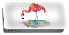 Flamingo Dip Portable Battery Charger