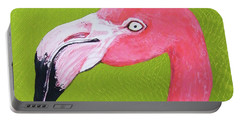 Flamingo Head Portable Battery Charger
