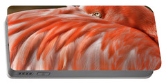 Portable Battery Charger featuring the photograph Flamingo by Lana Trussell