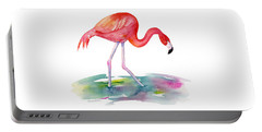 Flamingo Step Portable Battery Charger