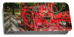 Flash On Farmall Portable Battery Charger by Robert Frederick