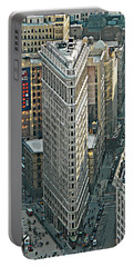 Flatiron Building Nyc 1 Portable Battery Charger