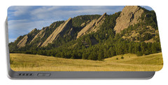 Flatiron Morning Light Boulder Colorado Portable Battery Charger