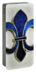 Portable Battery Charger featuring the photograph Fleur De Lis by Joseph Baril