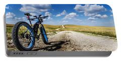 Flint Hills Fall Fatbike Ride Portable Battery Charger