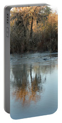 Portable Battery Charger featuring the photograph Flint River 17 by Kim Pate