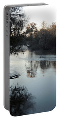 Portable Battery Charger featuring the photograph Flint River 20 by Kim Pate