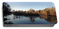 Portable Battery Charger featuring the photograph Flint River 26 by Kim Pate