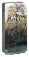 Portable Battery Charger featuring the photograph Flint River 30 by Kim Pate