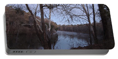Portable Battery Charger featuring the photograph Flint River 4 by Kim Pate