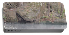 Portable Battery Charger featuring the photograph Flint River 5 by Kim Pate