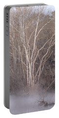 Portable Battery Charger featuring the photograph Flint River 9 by Kim Pate