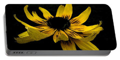 Black Eyed Susan Suspense Portable Battery Charger