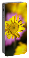 Portable Battery Charger featuring the photograph Floating Daisy by Joy Watson