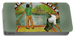 Floating Gardens Xochimilcho Mexico Portable Battery Charger by Frank Hunter