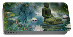 Floating Lotus Buddha Portable Battery Charger