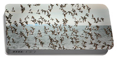 Flock Of Dunlin Portable Battery Charger