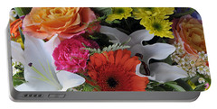 Floral Bouquet 7 Portable Battery Charger