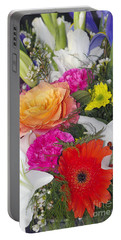 Floral Bouquet Portable Battery Charger
